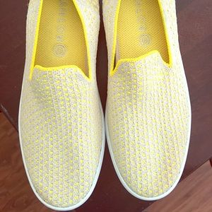 Rothy's Sunshine Honeycomb Sneakers Size 10